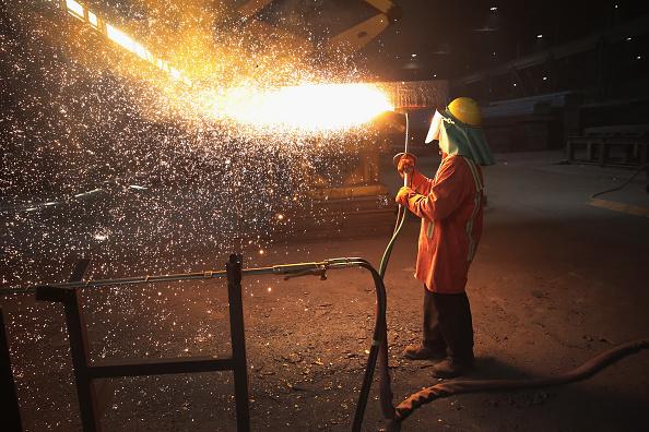 Metallic「Trump Administration Steel Tariffs Aims To Protect And Aid U.S. Steel Industry」:写真・画像(4)[壁紙.com]
