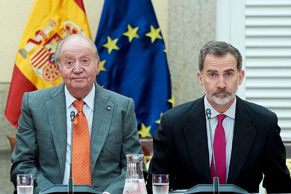Felipe VI of Spain「Spanish Royals Meet COTEC Foundation」:写真・画像(1)[壁紙.com]