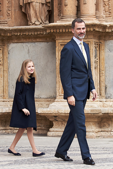 Religious Mass「Spanish Royals Attends Easter Mass In Palma de Mallorca」:写真・画像(18)[壁紙.com]
