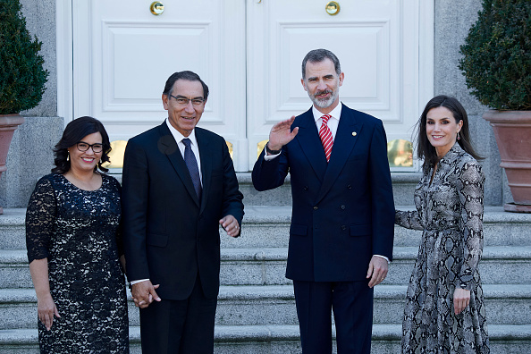 Madrid「Spanish Royals Host An Official Lunch For President Of Peru And His Wife」:写真・画像(4)[壁紙.com]