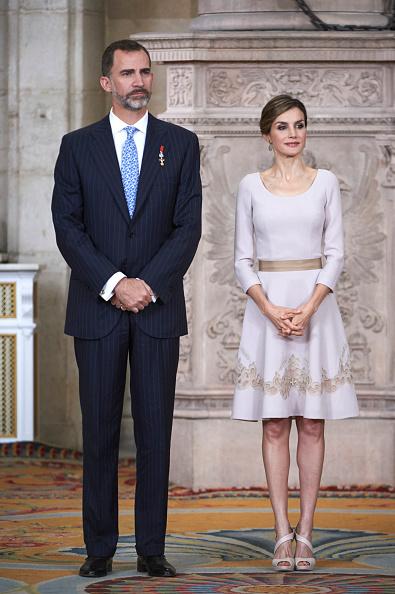 Madrid Royal Palace「Spanish Royals Deliver 'Order of the Civil Merit' Awards」:写真・画像(18)[壁紙.com]