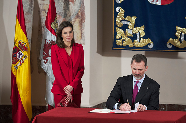 Cultures「Spanish Royals Attend The Commemoration of Capitulations of Valladolid」:写真・画像(7)[壁紙.com]