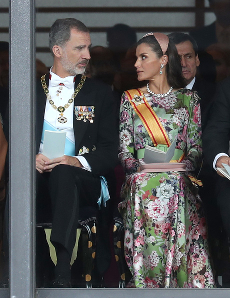 Letizia of Spain「Enthronement Ceremony Of Emperor Naruhito In Japan」:写真・画像(0)[壁紙.com]