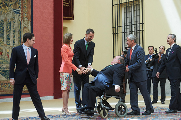 Medium Group Of People「Spanish Royals Attend the Bicentenary of the Council of the Greatness of Spain」:写真・画像(16)[壁紙.com]