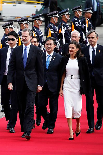 Spanish Royalty「Spanish Royals Visit South Korea - Day 1」:写真・画像(1)[壁紙.com]