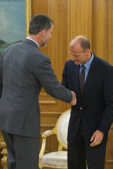 Carlos Alvarez「King Felipe VI Of Spain Receives Thomas Enders At Zarzuela Palace」:写真・画像(15)[壁紙.com]