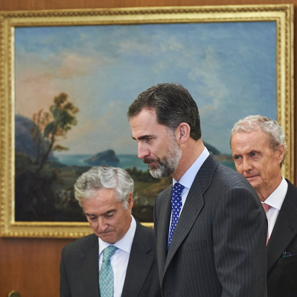 Carlos Alvarez「King Felipe of Spain Meets Secretary General of NATO」:写真・画像(16)[壁紙.com]