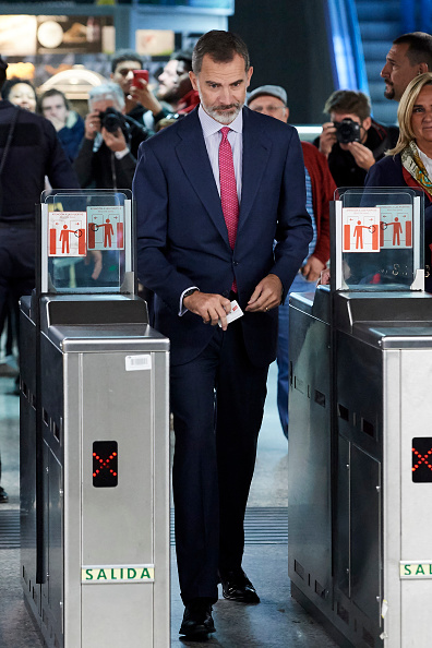 Finance and Economy「King Felipe Of Spain Attends The Centenary Commemoration Of  Madrid Underground First Line Opening」:写真・画像(5)[壁紙.com]