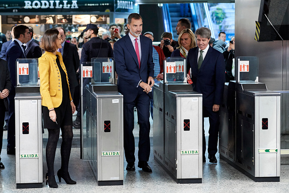 Finance and Economy「King Felipe Of Spain Attends The Centenary Commemoration Of  Madrid Underground First Line Opening」:写真・画像(3)[壁紙.com]