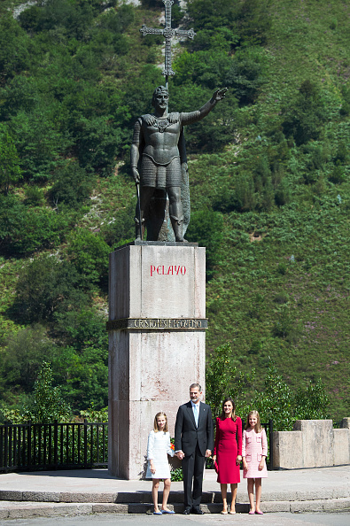 バシリカ「Spanish Royals Attend 13th Centenary Of The Reign Of Asturias」:写真・画像(19)[壁紙.com]