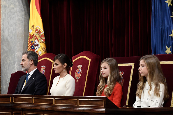 Spanish Royalty「Spanish Royals Attend the 14th Legislative Sessions Opening」:写真・画像(18)[壁紙.com]