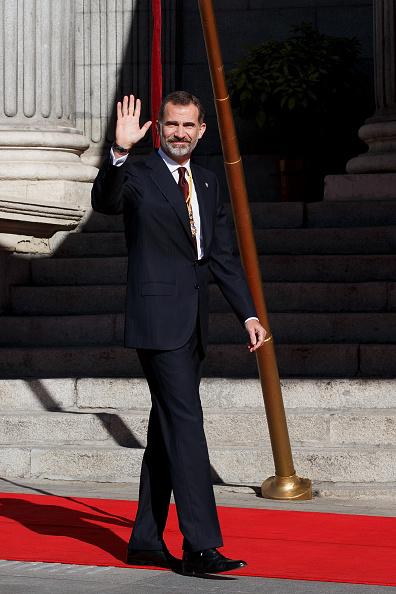 Hand「Spanish Royals Attend the 12th Legislative Sessions Opening」:写真・画像(11)[壁紙.com]