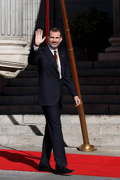 Spanish Royals Attend the 12th Legislative Sessions Opening:ニュース(壁紙.com)