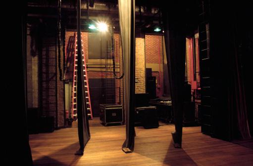 Curtain「Side-scenes of a theatre」:スマホ壁紙(6)