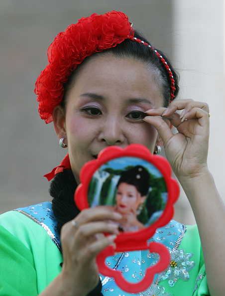 Front View「Folk Dance Competition Held In Beijing」:写真・画像(0)[壁紙.com]