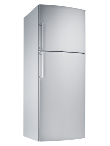 Refrigerator「Refrigerator (isolated with clipping path over white background)」:スマホ壁紙(17)