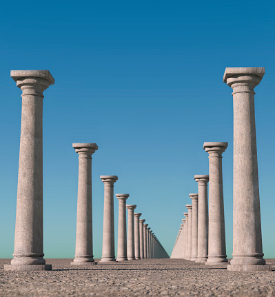 Continuity「Endless columns.」:スマホ壁紙(16)