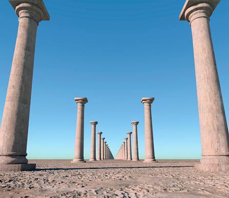Continuity「Endless columns.」:スマホ壁紙(2)