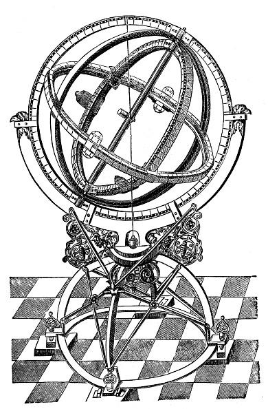 Astronomy「Astronomer 's instruments, 17th century」:写真・画像(10)[壁紙.com]