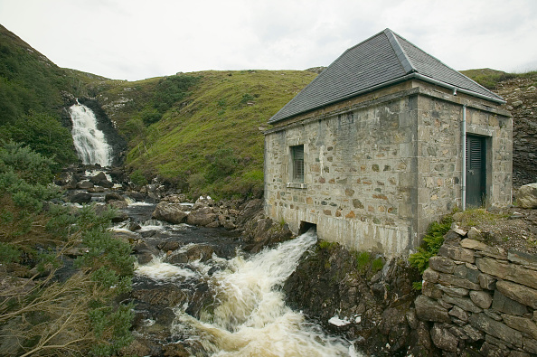 Greenhouse Gas「A small scale community hydro electric power station at kylesku, Scotland, UK」:写真・画像(1)[壁紙.com]