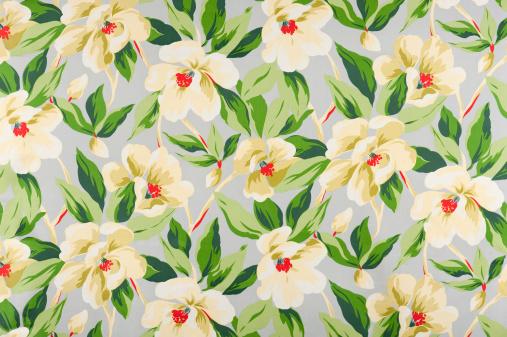 Floral Pattern「Malibu Floral Antique Fabric」:スマホ壁紙(10)