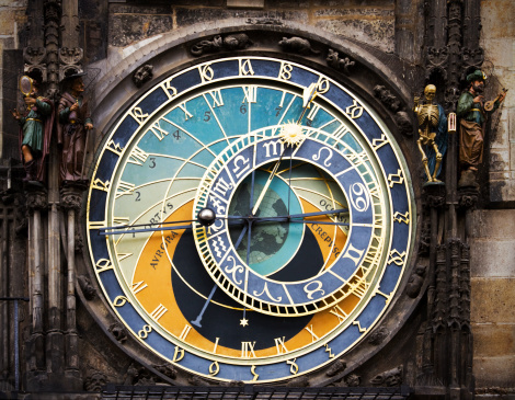 Prague「Prague astronomical clock」:スマホ壁紙(11)