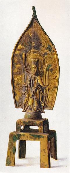 Bodhisattva「'Gilt Bronze Figure of Kuan-Yin', 334 AD, (1936)」:写真・画像(11)[壁紙.com]