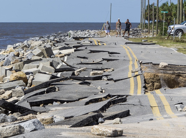 Extreme Weather「Hurricane Hermine Makes Landfall In Florida」:写真・画像(1)[壁紙.com]