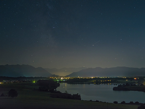 Garmisch-Partenkirchen「Night sky over the Alps」:スマホ壁紙(12)