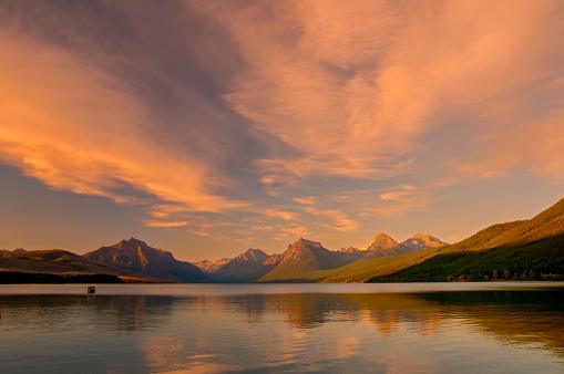 McDonald Lake「Lake McDonald Glacier NP」:スマホ壁紙(6)