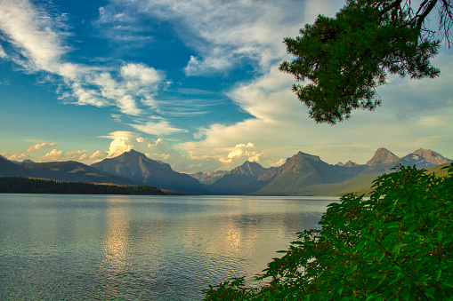 McDonald Lake「Lake McDonald」:スマホ壁紙(8)
