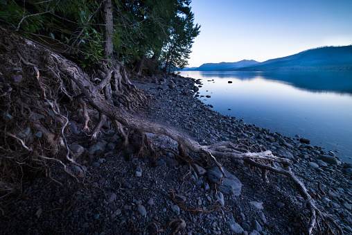 McDonald Lake「Lake McDonald at Sunset, Glacier National Park」:スマホ壁紙(19)