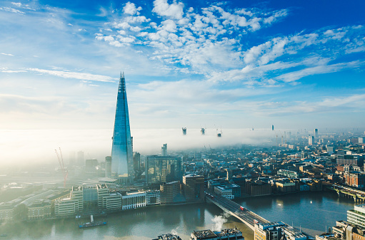 Famous Place「The Shard skyscraper in London」:スマホ壁紙(12)