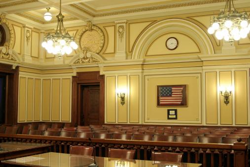 Politics「Historic American Courtroom」:スマホ壁紙(2)