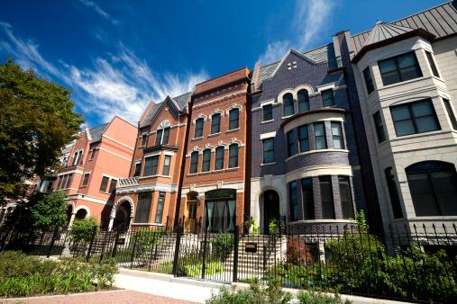 19th Century「Prairie Avenue Mansions in Chicago」:スマホ壁紙(15)