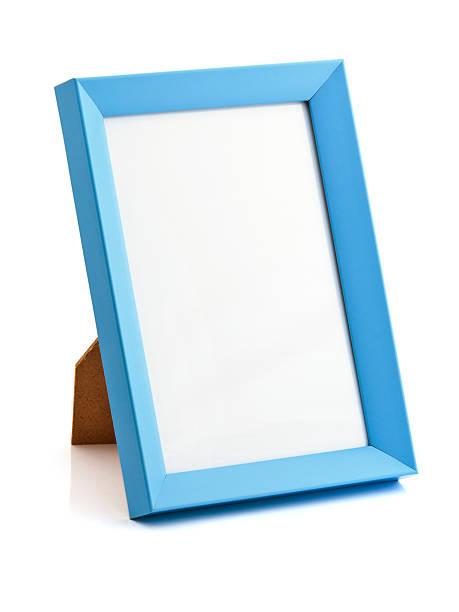 Blue photo frame:スマホ壁紙(壁紙.com)