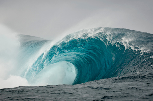 Tsunami「Wild Blue Wave」:スマホ壁紙(19)