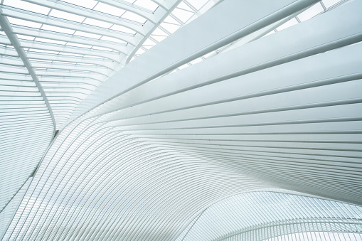 Arch - Architectural Feature「Railway Station Liege-Guillemins, Belgium」:スマホ壁紙(11)