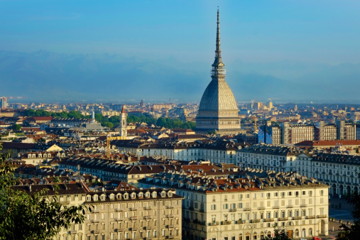 Torino Province「Turin, cityscape with the Mole Antonelliana」:スマホ壁紙(17)