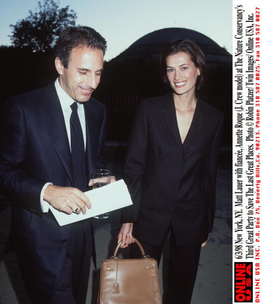 The Nature Conservancy「6/3/98 New York, NY. Matt Lauer with fiancee, Annette Roque (J. Crew model) at The Nature Conservanc」:写真・画像(6)[壁紙.com]