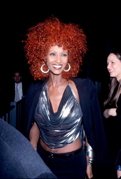 Hoop Earring「Iman At The 30Th Anniversary Party For Interview Photo By Robin Platzer/Twin」:写真・画像(8)[壁紙.com]