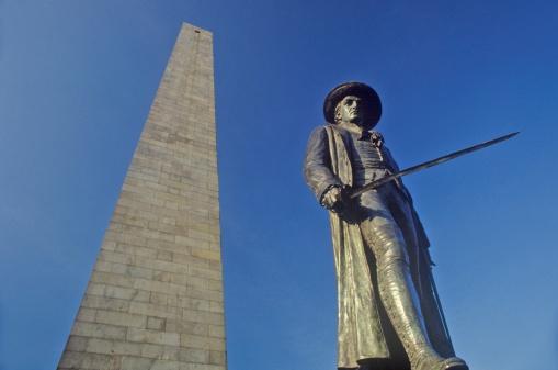 """Battle「""""Bunker Hill Monument, Boston, Massachusetts""""」:スマホ壁紙(9)"""