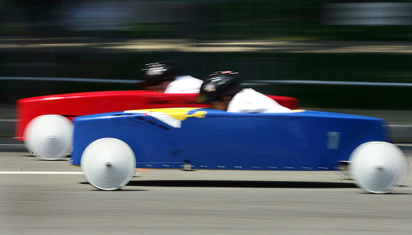 Soapbox Cart「Soap Box Derby Races Down Capitol Hill」:写真・画像(7)[壁紙.com]