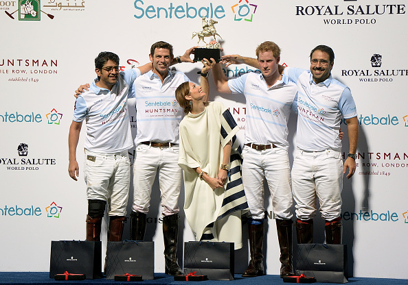 Sienna Guillory「Sentebale Polo Cup Presented By Royal Salute World Polo In Abu Dhabi With Prince Harry - Polo」:写真・画像(7)[壁紙.com]