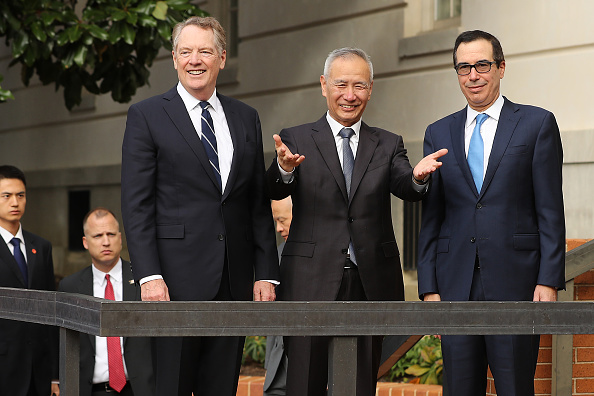 Trader「China Trade Delegation Meets With Trade Rep. Lighthizer And Sec. Mnuchin As Trade Negotiations Resume」:写真・画像(19)[壁紙.com]