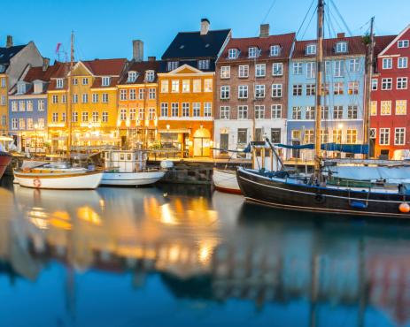 Danish Culture「Nyhavn, Copenhagen, Denmark」:スマホ壁紙(14)