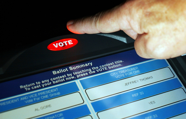 Machinery「New Electronic Voting Systems Shown」:写真・画像(2)[壁紙.com]