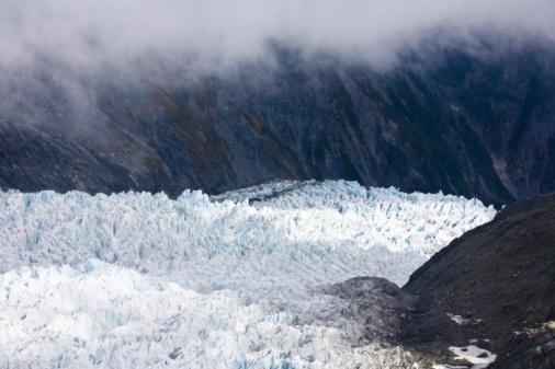 Franz Josef Glacier「Glacier in the mountains of New Zealand」:スマホ壁紙(10)