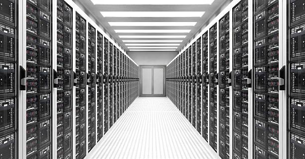 Servers in Data Center:スマホ壁紙(壁紙.com)