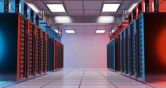 Data Center「Servers in Data Center」:スマホ壁紙(18)